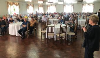 Em Getúlio Vargas, Ana Amélia destaca compromisso com o municipalismo