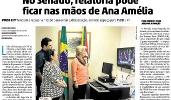Zero Hora: No Senado, relatoria pode ficar nas mãos de Ana Amélia