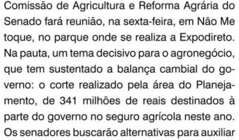 O Sul: Recursos para a Agricultura na Expodireto
