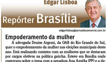 Jornal do Comércio: Edgar Lisboa - Empoderamento da mulher
