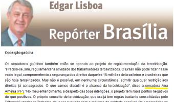 Jornal do Comércio: Edgar Lisboa - Oposição gaúcha