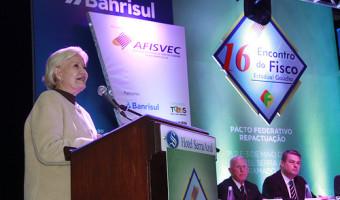 Senadora participa da abertura do Encontro do Fisco Estadual em Gramado