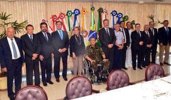 Comando militar agradece apoio de parlamentares pela aprovação de projeto