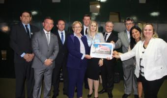 Prefeitos do Alto Jacuí buscam apoio para ampliar Hospital São Vicente de Paulo