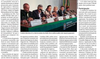 Jornal do Senado: Ministra promete incentivar produção de carne