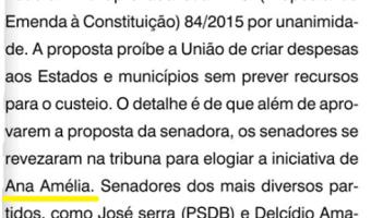O Sul: Flavio Pereira - Senado aprova PEC 84/2015 com louvor à senadora Ana Amélia