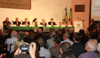 Comissão de Agricultura do Senado debate sanidade agropecuária na Expointer