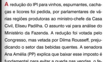 O Sul: Flavio Pereira - Redução do IPI para vinhos