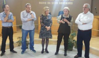 Minas do Leão recebe a visita da senadora Ana Amélia