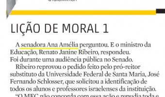 Zero Hora: Informe Especial - Lição de Moral 1