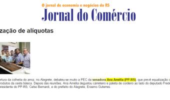 Jornal do Comércio: Fernando Albrecht - Equalização de alíquotas