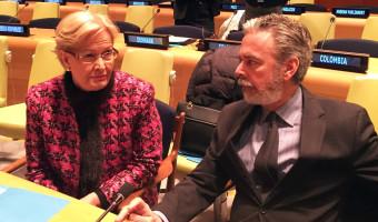 Parlamentares brasileiros participam de encontro com o embaixador brasileiro junto à ONU