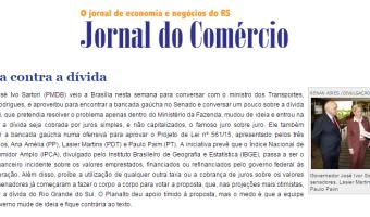 Jornal do Comércio: Edgar Lisboa - Ofensiva contra a dívida
