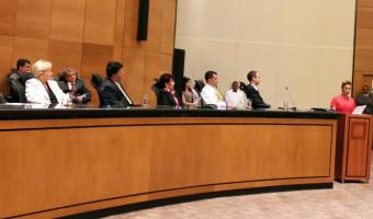 Primeira juíza a ocupar presidência da Associação dos Magistrados do Rio de Janeiro é empossada no cargo