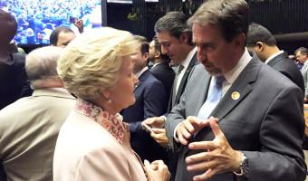 Ana Amélia pede apoio a Porto Alegre ao ministro da Integração por conta do temporal da última sexta-feira
