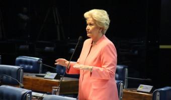 Ana Amélia cobra explicações em relação à declaração do senador Delcídio do Amaral