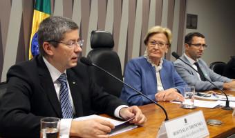 Comissão de Agricultura do Senado recebe parlamentares e embaixador da Ucrânia