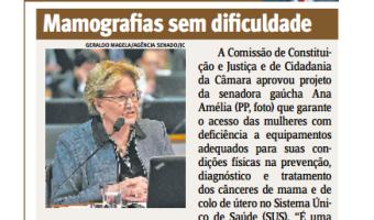 Jornal do Comércio: Edgar Lisboa - Mamografias sem dificuldade