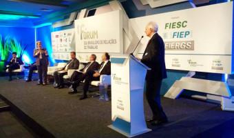Modernização das leis trabalhistas é tema de debate promovido pelas federações das indústrias dos estados do Sul