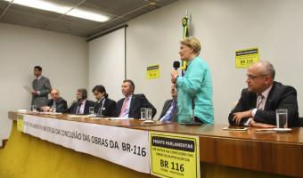 Lançada frente parlamentar pela duplicação da BR-116