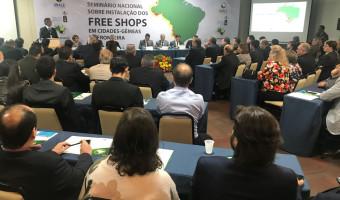 Mobilização pelos Free Shops reúne parlamentares e prefeitos em Brasília