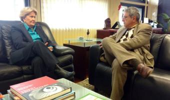 Presidente do TJ-RS recebe a senadora Ana Amélia