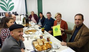 Ana Amélia reúne-se com presidentes de entidades representativas do setor agrícola no RS
