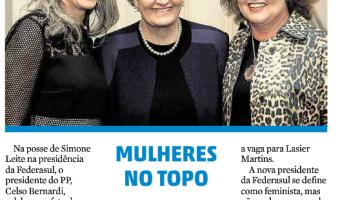 Zero Hora: Política + - Mulheres no topo