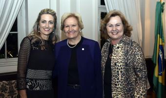Senadora prestigia posse da primeira mulher a ocupar a presidência da Federasul em 88 anos