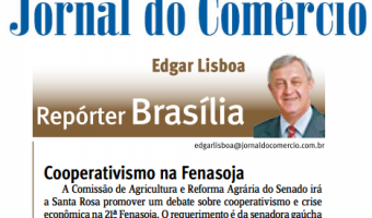 Jornal do Comércio: Edgar Lisboa - Cooperativismo na Fenasoja