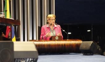 Ana Amélia homenageia inauguração da TV Senado Digital