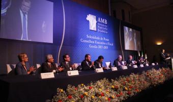 Diálogo para superar crise institucional é tônica de discursos durante posse na Associação do Magistrados Brasileiros