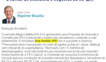 Jornal do Comércio: Edgar Lisboa - Redução do salário