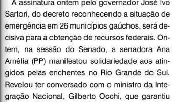 O Sul: Flavio Pereira - Decreto garante tramitação do pedido