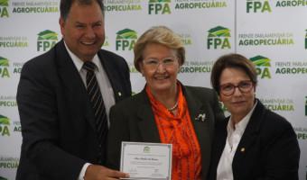 FPA homenageia parlamentares por atuação na defesa da agropecuária brasileira