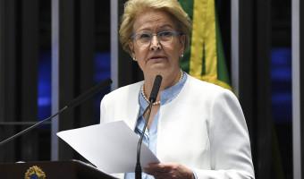 Ana Amélia critica declarações de Haddad em defesa do ex-presidente Lula