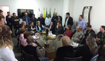 Em Ivoti, prefeito e lideranças agradecem apoio de senadora