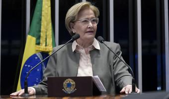 Ana Amélia defende proposta para alterar forma de escolha de ministros e acabar com mandato vitalício no STF