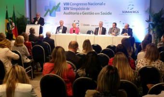 8º Congresso Nacional e o 14º Simpósio de Auditoria e Gestão em Saúde reúne autoridades em Porto Alegre