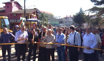 Ipê inaugura asfalto da estrada geral de Vila Segredo