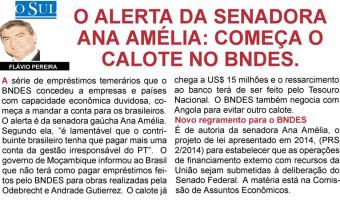 O Sul: Flavio Pereira - Calote no BNDES