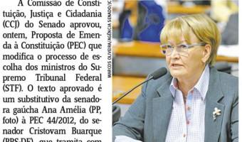 Jornal do Comércio: Edgar Lisboa - Modificação no processo de escolha dos ministros do STF