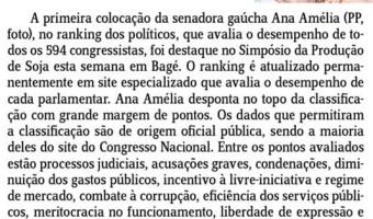 Jornal do Comércio: Edgar Lisboa - Ranking dos políticos