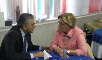 Ministro do Turismo destinará técnico para avaliar revitalização da linha férrea turística de Vespasiano Corrêa e região