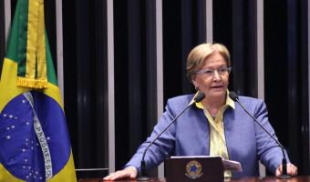 """""""Ameaças do ex-presidente Lula a juízes, procuradores e jornalistas são inaceitáveis"""", diz senadora"""