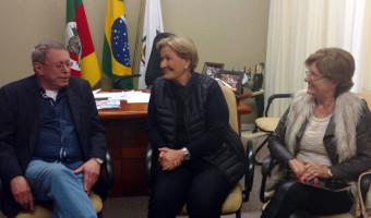 Senadora visita Prefeitura e Hospital Ana Nery, em Santa Cruz do Sul