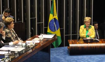 Povo é que foi golpeado, diz Ana Amélia em oitiva da presidente afastada