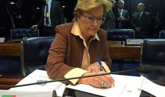 Ana Amélia sugere destinação de emenda da bancada gaúcha para área da segurança