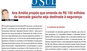 O Sul: Flavio Pereira - Emenda destinada à segurança