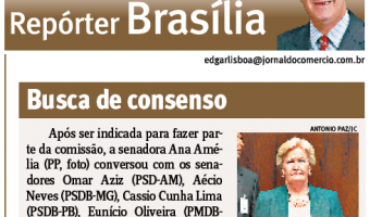 Jornal do Comércio: Edgar Lisboa - Busca de consenso